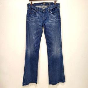 7 For All Mankind Unique Dojo Jeans size 30